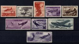 Russia 1945 Unif. A72/80 **/MNH VF/F - 1923-1991 URSS
