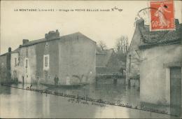 44 LA MONTAGNE / Village De Roche Ballue Inondé / - La Montagne