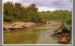 The Floating House Of Kwoe Yai Kanjanaburi - Thailand