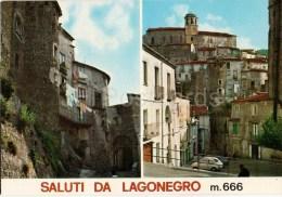 Saluti da Lagonegro mt. 666 - streets - Potenza - Basilicata - 118 - Italia - Italy - unused