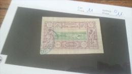 LOT 229835 TIMBRE DE COLONIE SOMALIS OBLITERE N�11 VALEUR 11 EUROS