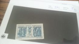 LOT 229839 TIMBRE DE FRANCE NEUF* N�274 VALEUR 50 EUROS