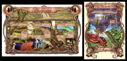 GUINEA 2013 - Snakes. Animals - YT 6739-41 + BF1507; CV = 47 € - Serpents