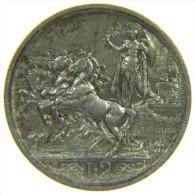 REGNO D´ ITALIA - VITTORIO EMANUELE III / ITALIAN KINGDOM SILVER 2 LIRE QUADRIGA BRIOSA 1916 - 1861-1946 : Regno