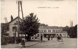 Clermont - La Gare ( édition Vandenhode ) - Clermont
