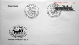 Denmark 1991 Special  Cancel Letter  Diligencepost  NEKSØ 7-5 Rønne-Aakirkeby-Neksø ( Lot 3520  ) - Denmark