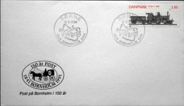 Denmark 1991 Special  Cancel Letter    RØNNE 5-5-1991 1841 Bornholm 1991  ( Lot 3521  ) - Denmark