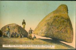 Tandil Piedra Movadiza Caida -el 29 De Febrero 1912 - Argentina