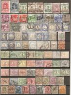 84 Timbres Anciens Indes-Néerlandaises - Niederländisch-Indien