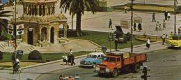 IZMIR - Konak, Platz Und Uhrturm, Lastwagen, Auto, Schiffe, Karte Um 1975 - Türkei