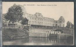 - CPA 31 - Toulouse, Gare Matabiau Et Canal Du Midi - Toulouse