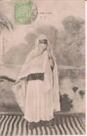 TUNISIE 51  JEUNE FILLE ARABE 1905 - Tunisia