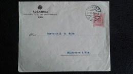 AUTRICHE . ENTIER POSTAL 10 HELLER . LETTRE DE 1906 . COSMANOS-WIEN - Interi Postali