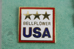 USA Bellflower - Pin Badge #PLS - Ciudades