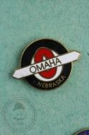 Omaha Nebraska - Pin Badge #PLS - Ciudades