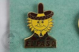 EL Paso, Texas - Pin Badge #PLS - Ciudades