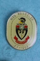 USS Reasoner FF-1063 Warship - Pin Badge #PLS - Barcos