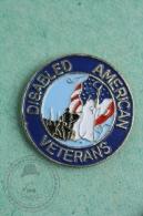 Disabled American Veterans - Pin Badge #PLS - Militares