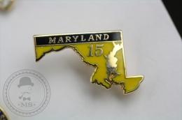 Maryland 15 - Pin Badge #PLS - Ciudades