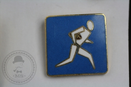 Rugby Player - Pin Badge #PLS - Rugby