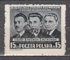 Poland 1950 Mi# 666 Groszy Overprint MNH * * 5.9 - Nuevos