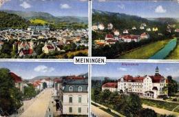 MEININGEN - Karte Gel.als Feldpost 1917, Ovaler Sonderstempel - Meiningen