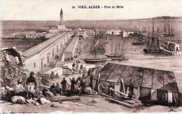 VEIL ALGER - Port Et Mole, Karte Um 1915 - Algerien