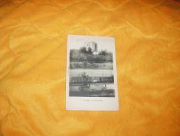 CARTE POSTALE ANCIENNE CIRCULEE DE 1922. / ETAMPES.- TOUR DE GUINETTE. / LIB. FLIZOT. / CACHETS + TIMBRES - Etampes