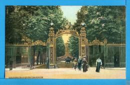 CP, 75, PARIS, La Grille Du Parc Monceau, Vierge - France