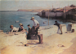 William Llewellyn, Padstow, Art Painting Postcard Unposted - Paintings