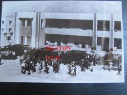 """Photographie (19x12 Cm) : Port De Casablanca, 12/12/44, Arrivée D'un Convoi D' """"Évadés De France"""" Venant De Malaga - Photographie"""