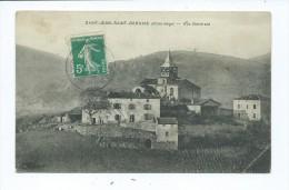 CPA - Saint-jean-Saint-Gervais - Vue Générale - France