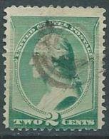 USA 1887-88  Washington 2c USED SC 213 YV 64 MI 54 SG 218 - Used Stamps