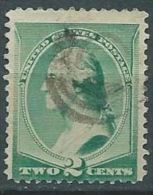 VERINIGTE STAATEN ETATS UNIS USA 1887-88  Washington 2c USED SC 213 YV 64 MI 54 SG 218 - 1847-99 Emissioni Generali