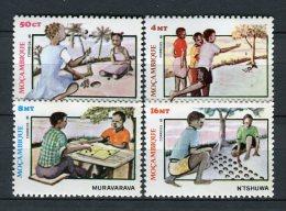 Mozambique 1985. Mi 1025-28 ** MNH.