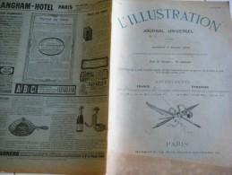 L'ILLUSTRATION 8 MARS 1902- JUBILE DU PAPE LEON XIII-AFRIQUE DU SUD-INFANTERIE SKI- BARCELONE- JURA-ANDALOUSIE