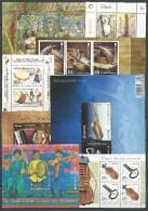 """EUROPA 2014- """"INSTRUMENTOS MUSICALES""""- COLECCION  COMPLETA DE SELLOS Y HOJITAS BLOQUE.-TEMATICA OFICIAL EMITEN 64 - Colecciones"""