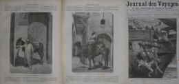 N�132JOURNAL des VOYAGES 1880:argentine gauchos des pampas/SAHARA anier et chef de caravane/turkestan/SIBERI E