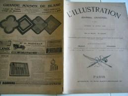 L'ILLUSTRATION 12 avril 1902-Fabrique gaz Usine Clichy , catastrophe de Glasgow , a�ronautes Paris-Baleine Ile d�Ol�ron-