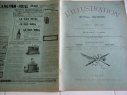 L'ILLUSTRATION 19 avril 1902-BRUXELLES LUTTE POUR LE SUFFRAGE UNIVERSEL  BELGIQUE - FETES DU TONKIN - BAL GAVARNI-CONGO