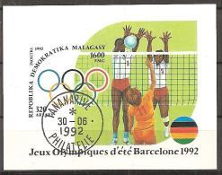 1992 - MADAGASKAR - # - BLOCK # o