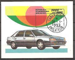 1993 - MADAGASKAR - # - BLOCK # o