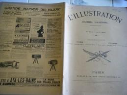 L'ILLUSTRATION 7 JUIN  1902- COPENHAGUE - PAIX AU TRANSVAAL-EXPO CONCOURS CHIENS� MILAN- DAUDET-NEUILLY PELOTE BASQUE-CH