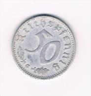 ALLEMAGNE . 50 REICHSPFENNIG 1942 G - [ 4] 1933-1945 : Third Reich
