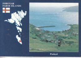 Danemark - Faroe Islands - Porkeri - Un Paysage Magnifique - Dinamarca