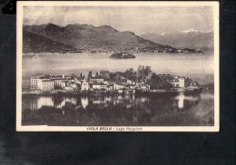 F2442 Lago Maggiore, Isola Bella- Foto. D. Menapace   - Old Small Card - Italia