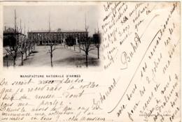 Manufacture Nationale D´Armes De Saint-Etienne - Timbre Y&T France N°103 - Cachet De St-Etienne à Anvers - Saint Etienne