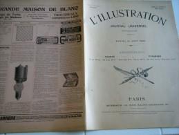 L'ILLUSTRATION 30 AO�T 1902-  PYRENEES- GENERAUX BOERS- RAID BRUXELLES-OSTENDE-ARTILLE RIE CAMP DE CHALONS
