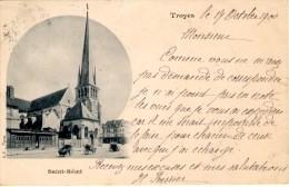 Troyes - Saint-Remi - Timbre Y&T France N°103 - Cachet De Troyes à Anvers - Troyes