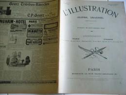 L'ILLUSTRATION 20 SEPTEMBRE 1902-SECHERESSE AUSTRALIE- SAINT PIERRE MARTINIQUE- BON PAS ARDECHE-MUNITIONS DE GUERRE